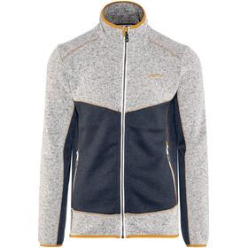 Meru M's Lerum Knitted Fleece Jacket Outer Space Melange